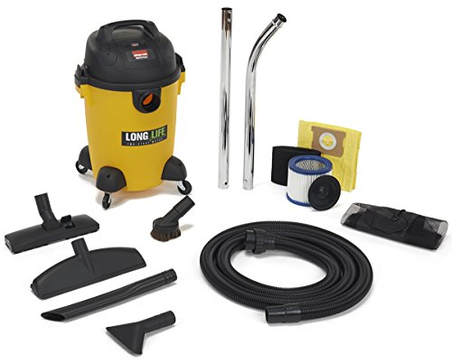 Shop-Vac 9272610 2.0 Peak HP Long Life Wet Dry Vacuum, 6-Gal