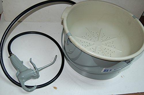 BLUEROCK Tools Hand Held Oiler Bucket for Pipe Threading fits Ridgid 418 300 by BLUEROCK (Image #2)