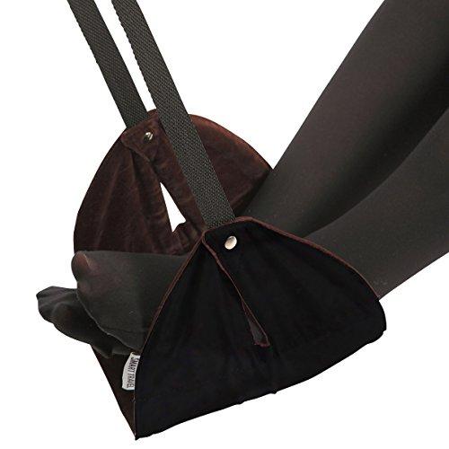 SmartTravel Portable Travel Footrest for Airplane (Black)