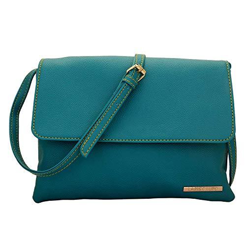 Turquoise Pocket Sac Multi avec Sling Satchel Femmes Lupo O Designer Celeste sacs Lapis 7SqpYp