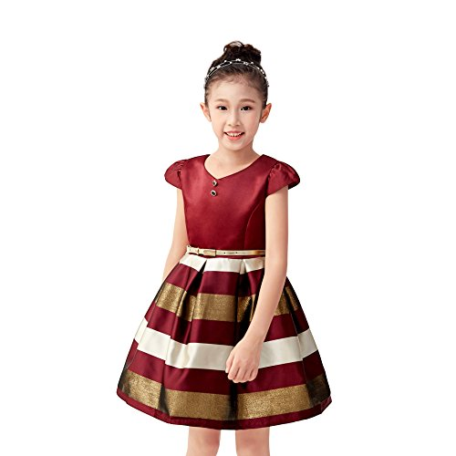 6fb1666e66f Kids Beauty 5-6 Party Dresses Children Pageant Dresses Little Girls Size 6  Toddler Baby