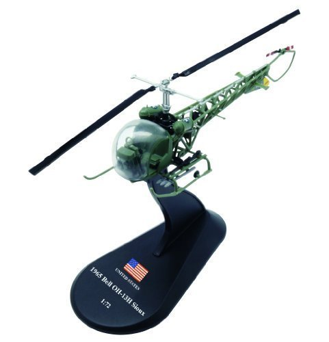 Amercom HY-31 Bell OH-13 Sioux diecast 1:72 helicopter model