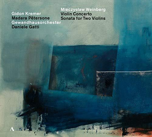 Violinkonzert & Sonate Für Zwei Violine - Kremer, Gidon, Gatti, Daniele, Gewandhausorchester, Weinberg, Mieczyslaw: Amazon.de: Musik