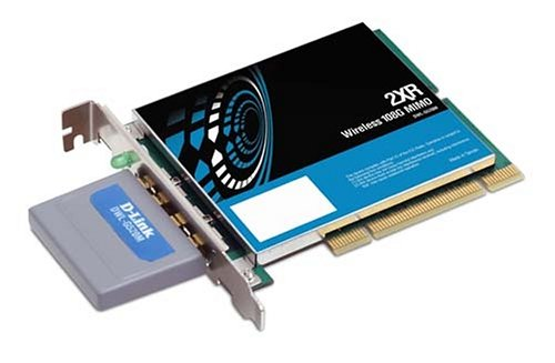 D-LINK DWL-G520M Wireless 108G PCI Adapter, 2XR, MIMO, Sm...