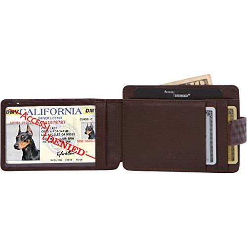 Access Denied Pocket Wallet Leather