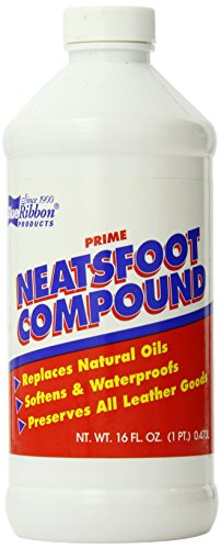 Blue Ribbon Neatsfoot Oil Leather Protector, 16 Fluid Ounce ()