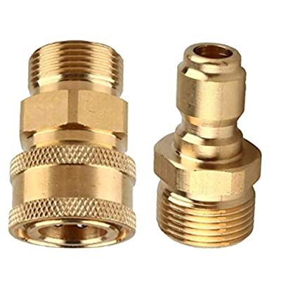 5Pcs Pressure Washer Spray Nozzles Set Fit For Quick Connect Disconnect Fittings