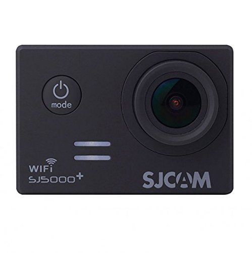 SJCAM SJ5000 Plus Wifi Ambarella A7LS75 1080P 60FPS WiFi Built-in 1.5'' LCD 16MP 170° Wide Angle Sport Action Camera Waterproof Cam HD Camcorder Outdoor for Vehicle Diving Swimming (Black)