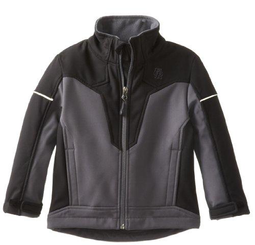 Urban Republic Little Boys' 2176TC Soft Shell Jacket, Charcoal, 4T