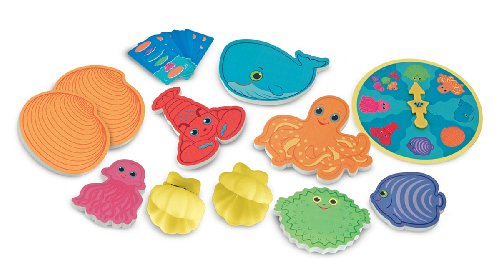 Melissa & Doug Sunny Patch Seafood Sandwich Stacking Game