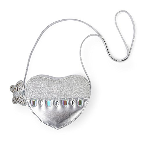 The Children's Place Girl's Purse, silver, NO SIZE (Silver Girls Bag)