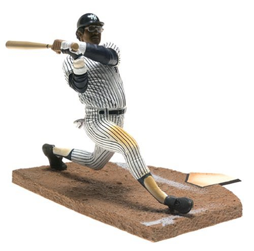 McFarlane Toys MLB Cooperstown Collection Series 1 Action Figure Reggie Jackson (New York Yankees) White Uniform - Reggie Jackson Uniform