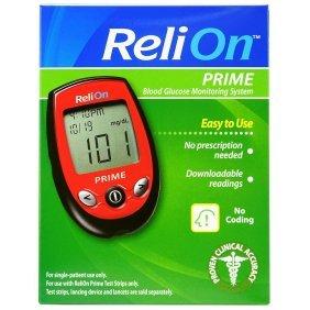 Amazon Com Relion Prime Blood Glucose Test Strips 50