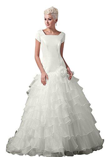 inverted triangle wedding dress - 9
