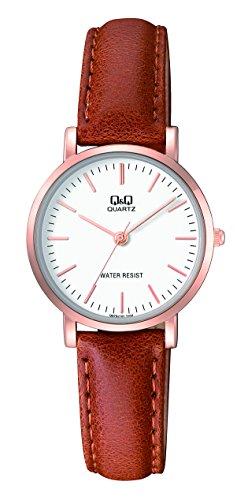 womens-dress-watch-qq-q979j101y-quartz-analog-wrist-watch-with-a-brown-leather-band-waterproof-desig