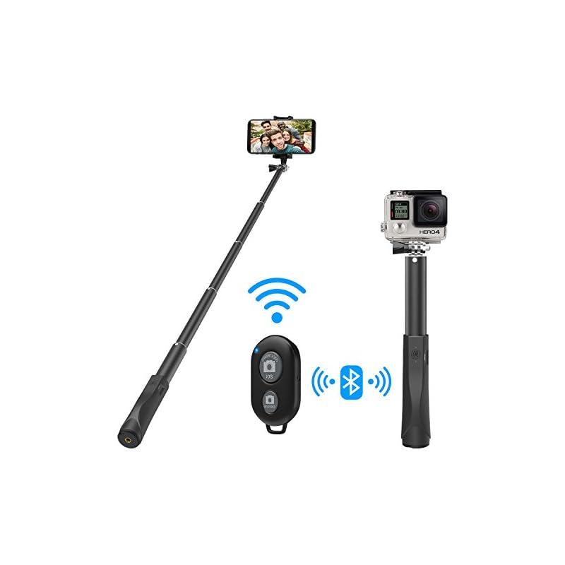 MoKo Bluetooth Wireless Selfie Stick, Ex