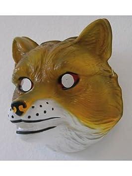 Niños animales máscara de zorro