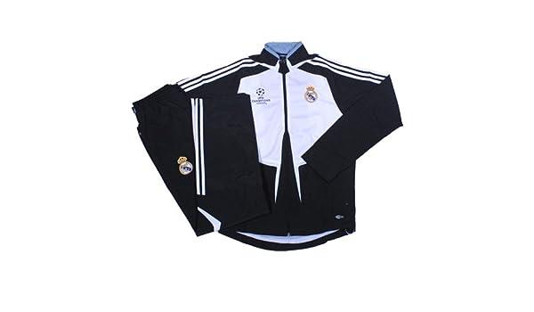 adidas - Real Madrid Chandal PRESENTACION Champions 08/09 Hombre ...