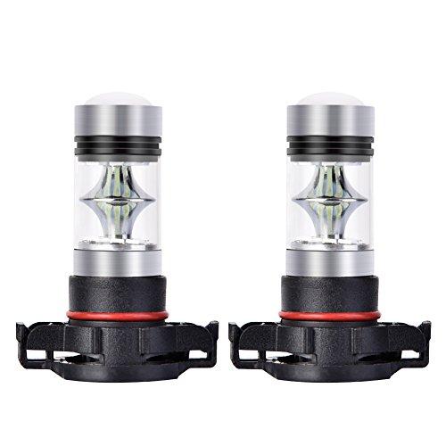 led 5202 fog lights 8000k - 1