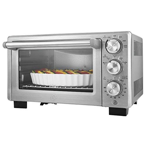 Oster Convection Countertop Toaster Oven Stainless Steel, (TSSTTVDFL2) (Oster 6 Slice Toaster Oven)