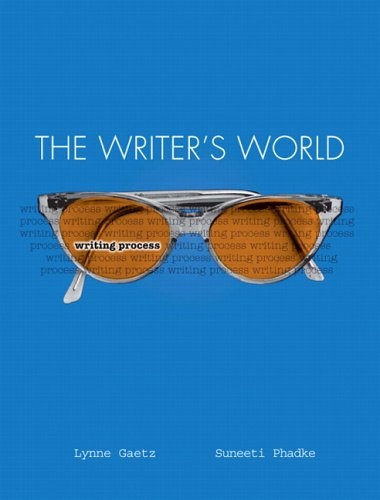 The Writer's World: Writing Process