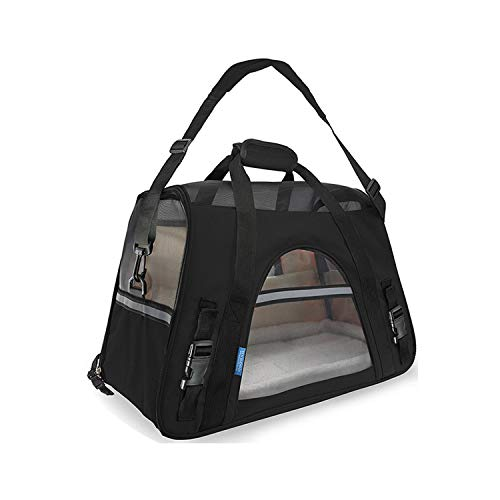 Portable Pet Carrier Bag for Cat Dog Handbag Outdoor Pet Travel Bags Breathable Dog Carry Bag Cat Carrying Carrier Puppy Carrier,Sky Blue,S