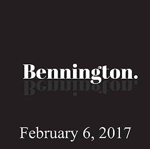 Bennington, February 6, 2017 Radio/TV Program