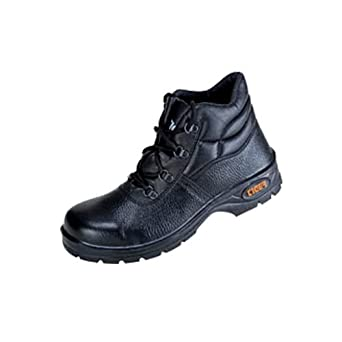 db89e3f69ae5ab Tiger High Ankle Leopard Steel Toe Safety Shoes_Size 7: Amazon.in: Amazon.in
