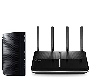 TP-LINK Archer C3150 v2.0 and DOCSIS 3.0 (16x4) High Speed Cable Modem (TC-7620)