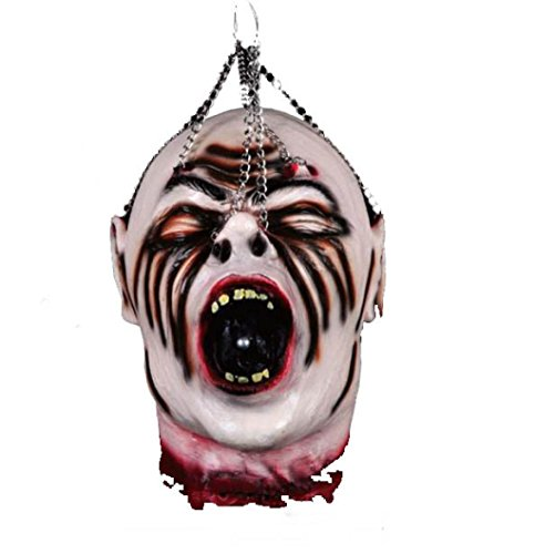 [Halloween Decoration! Elevin(TM) New Tricky Toys Halloween Supplies/Bar Haunted House Props/Terror Hanging Kito Scary Decoration Ornament] (Hanging Halloween Props)