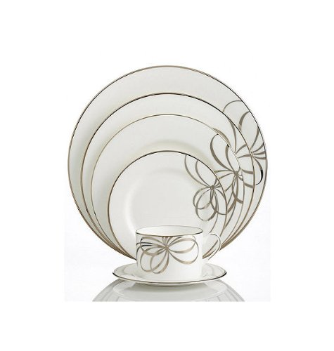 Kate Spade BELLE BOULEVARD GOLD 5 Pc Place Setting