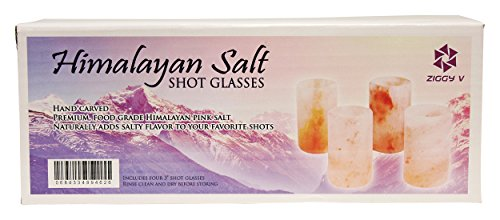 how to clean himalayan salt shot glasses