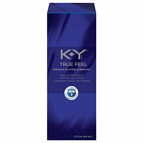 Feel Lubricant (K-Y True Feel Silicone Lubricant, 1.5 oz.)