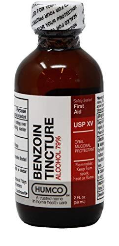 Humco 024792001 Benzoin Tincture, NF XI, 2 - Skin Protectant Swab