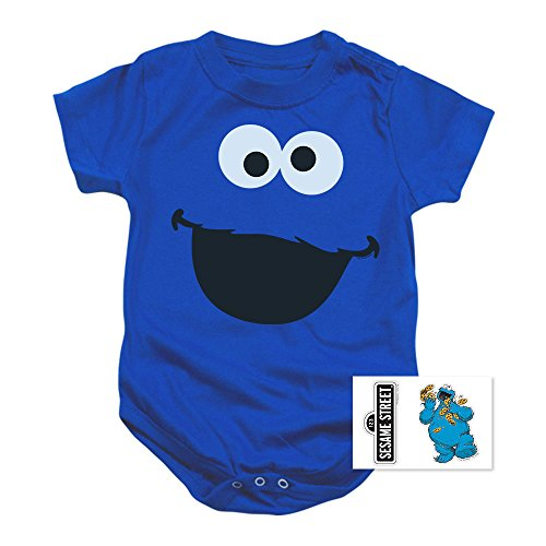 Infant Sesame Street Cookie Monster Snapsuit (12 mos) for $<!--$14.99-->