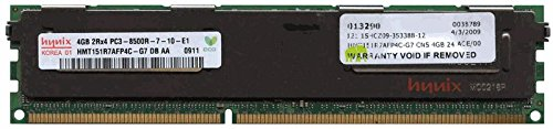(500660-B21 4GB HP Proliant PC3-8500 CL7 Registered ECC DDR3-1066 240-pin DIMM 3rd Party by GiGARAM)