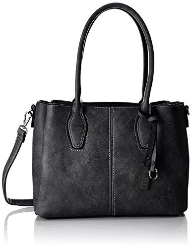 Gabor Roma - Shoppers y bolsos de hombro Mujer Negro (Schwarz)