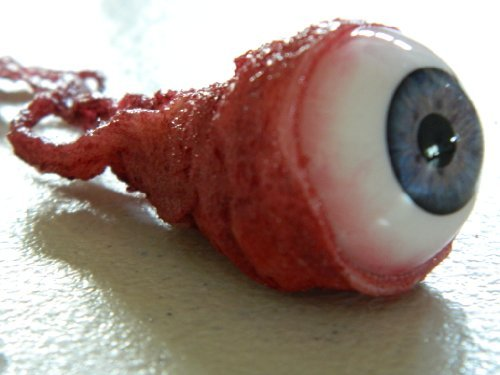Premium Ripped Out Eyeball Movie Quality Prop - BLUE/GRAY by Dead Head -