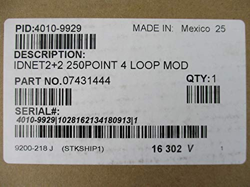 Simplex 4010-9929 - IDNET 2+2 250 Point Capacity 4 Loop Module