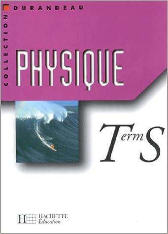 Livres gratuits Physique, Terminale S epub, pdf