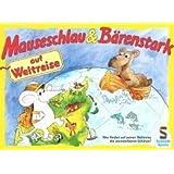 Schmidt Spiele - Mauseschlau & Bärenstark, Auf Weltreise