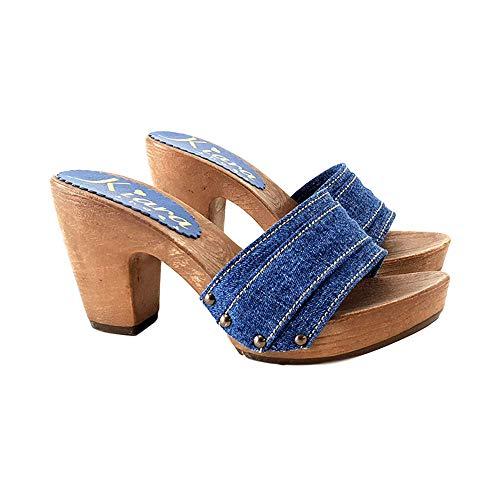 Tomaia Jeans Kiara K31012 Shoes denim In Zoccoli Con Italiani RnnHqwZI