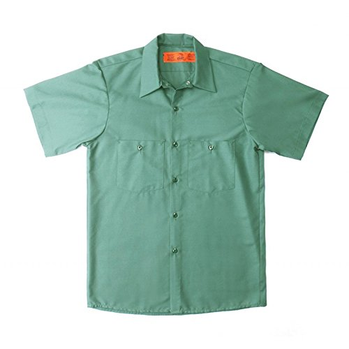 Pinnacle Textile S12 4.25 OZ POPLIN 65/35 Polyester/Cotton, Half Sleeve - Mint Pinnacle