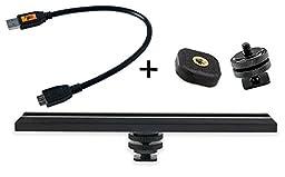 CamRanger Camera Mounting Kit USB 3.0 Black Cable