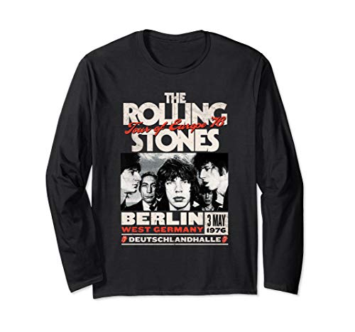 The Rolling Stones Berlin 76 Long Sleeve T-Shirt (Rolling Stones 1981)