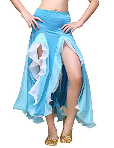 Legou Jupe Queue de Poisson Danse du Ventre Douce-Femme Bleu Clair