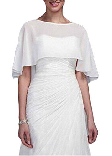 Buy ivory cape dress - 9