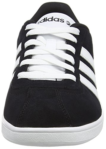 adidasVLCOURT - pantufla Hombre Negro (Black 001Black 001)