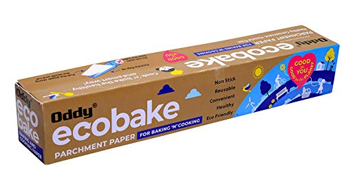 Oddy Ecobake Baking & Cooking Parchment Paper 10″ X 20 Mtrs ( Oddy Uniwraps ) Price & Reviews