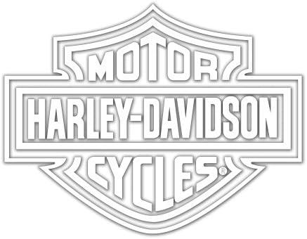 Amazon.com: Harley-Davidson Logo Cutz Rear Window Decal: Harley-Davidson: Automotive